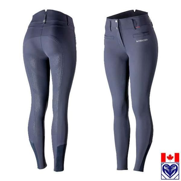 Breeches (Women's, Full Seat) - B Vertigo Tiffany Women's Silicone Full Seat Breeches from Horses are Expensive