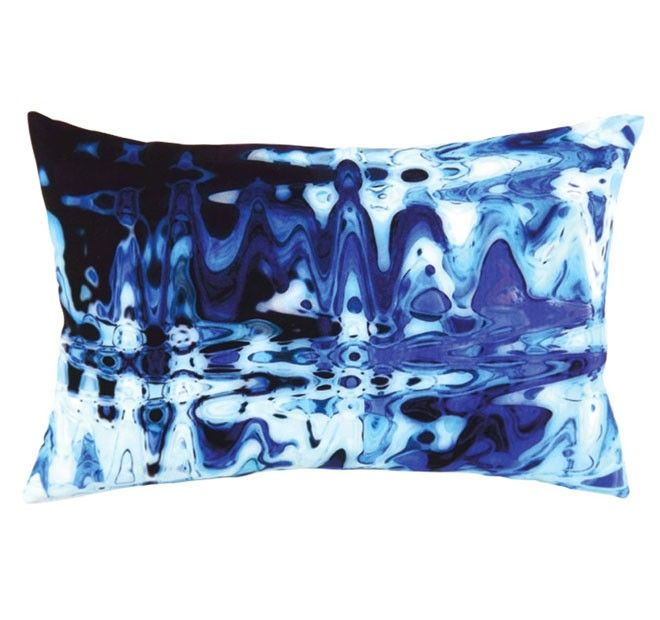 Sonic 35x55cm Filled Cushion Blue | Manchester Warehouse