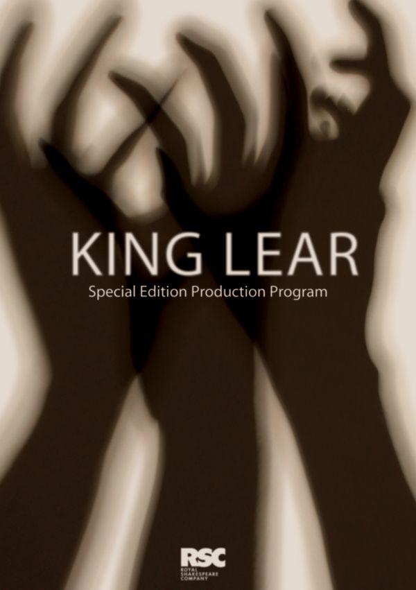 King Lear. Theatre Posters by Jonny Dodds