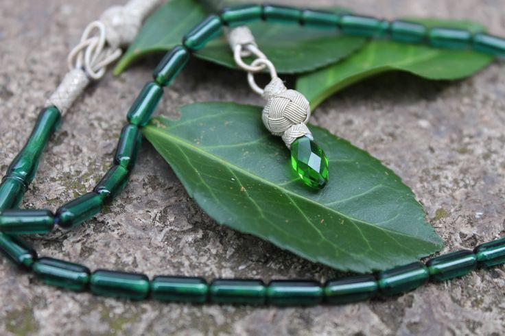 1000 Ayar Gümüş Kazaz Püsküllü Kapsül Kesim Sıkma Yeşil Kehribar Tesbih (Özel İşçilik)  Fiyat: 124, 90 €