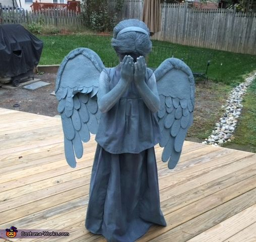 Dr. Who Weeping Angel - 2014 Halloween Costume Contest via @costume_works