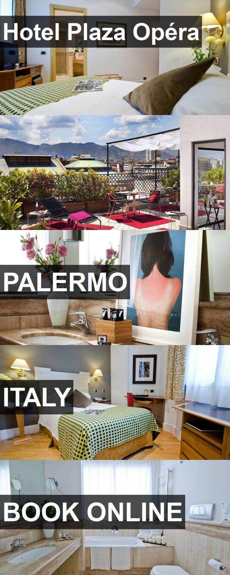 Hotel Hotel Plaza Opéra in Palermo, Italy. For more information, photos, reviews and best prices please follow the link. #Italy #Palermo #HotelPlazaOpéra #hotel #travel #vacation