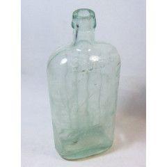 Antique Scrubs fluid ammonia bottle