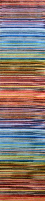 Crazy Stripes Whether you go bold or neutral, striped rugs have timeless appeal.