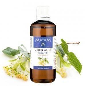Apa de tei este un veritabil calmant cutanat ce aduce beneficii pielii sensibile sau iritate. Iluminează şi netezeşte tenul iar pentru păr este un ingredient de înfrumuseţare şi fortificare.