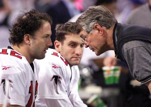 Chris Chandler, Dan Reeves, Atlanta Falcons