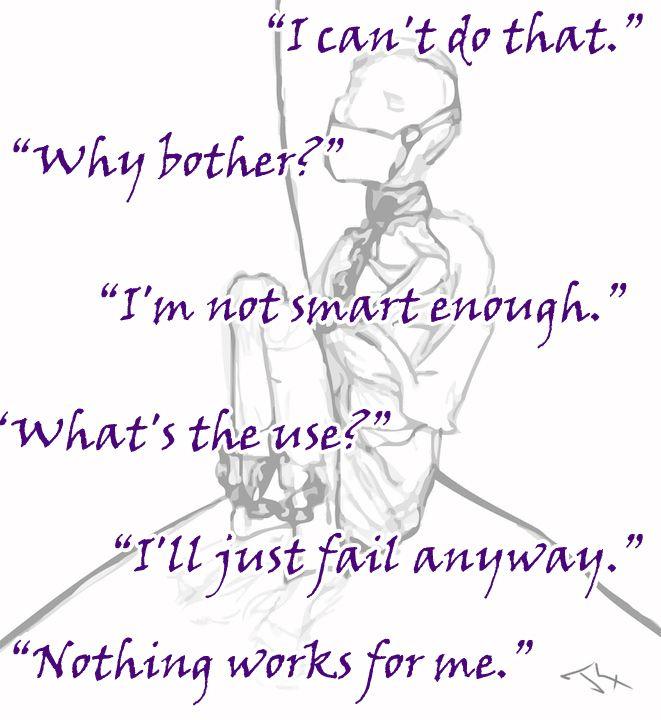 Feeling Powerless; Overcoming Learned Helplessness