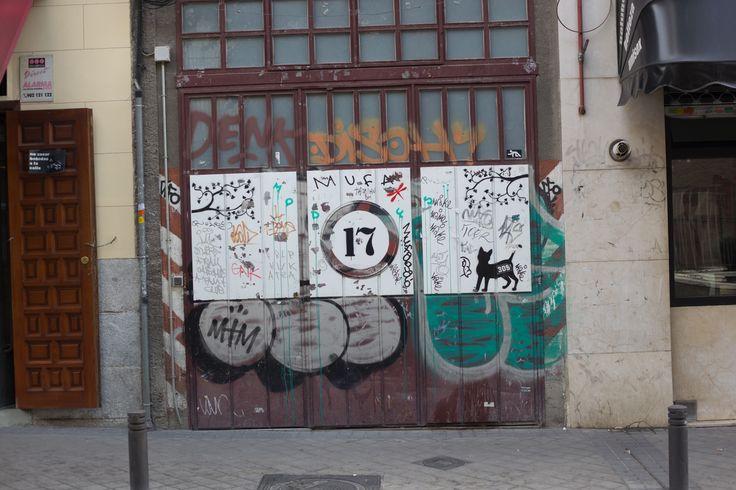 Calle de Tabernillas, Barrio de La Latina, Madrid 17 de octubre de 2015
