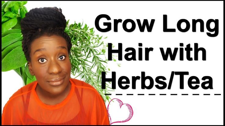 Tea and Herbs for Hair Growth You Should Try | Tea Rinsing on Natural Hair