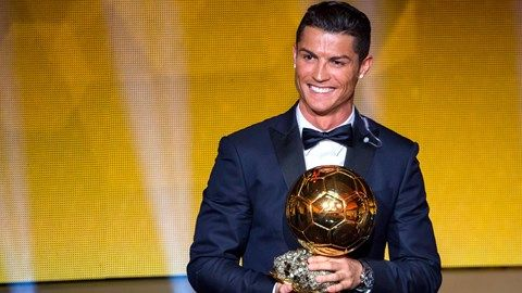 """The official site of the FIFA Ballon d'Or - FIFA.com, CRISTIANO RONALDO """"The fact is, if I think back to the first time I was invited to this ceremony, I'd never have imagined this scene being repeated so many times. Every time I come back it feels great. All those achievements are starting to feel even more special now that my son Cristiano understands what's going on and knows why I'm here."""""""