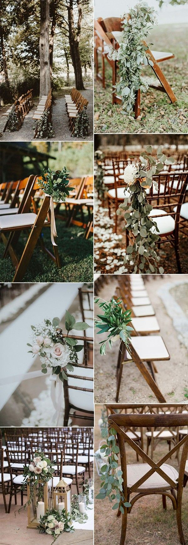 32 Idées de décoration de couloir de mariage en plein air – Page 2 sur 2 – Wedding Inspiration