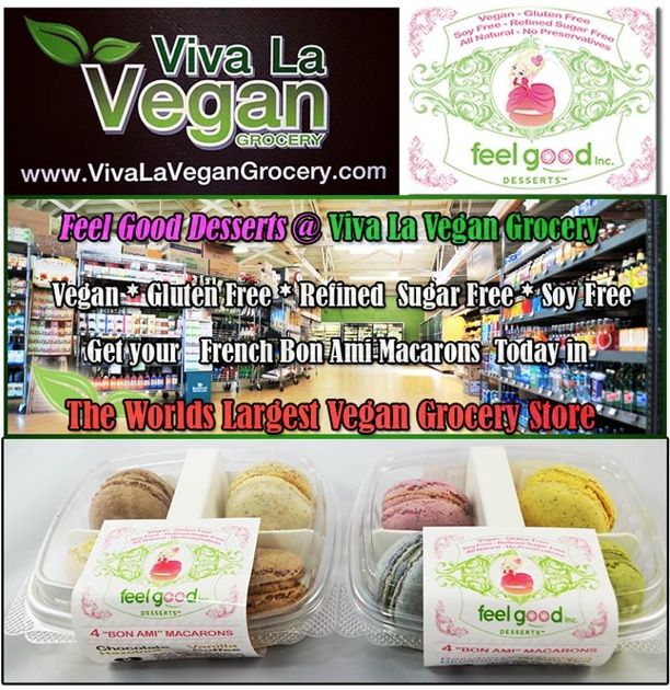 <3 viva la vegan <3 100% vegan grocery store <3 complete with vegan macaroons! lol! <3