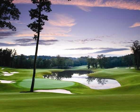 Rock Barn Golf & Spa, Jones Course - Conover, NC.  Beautiful and great layout!