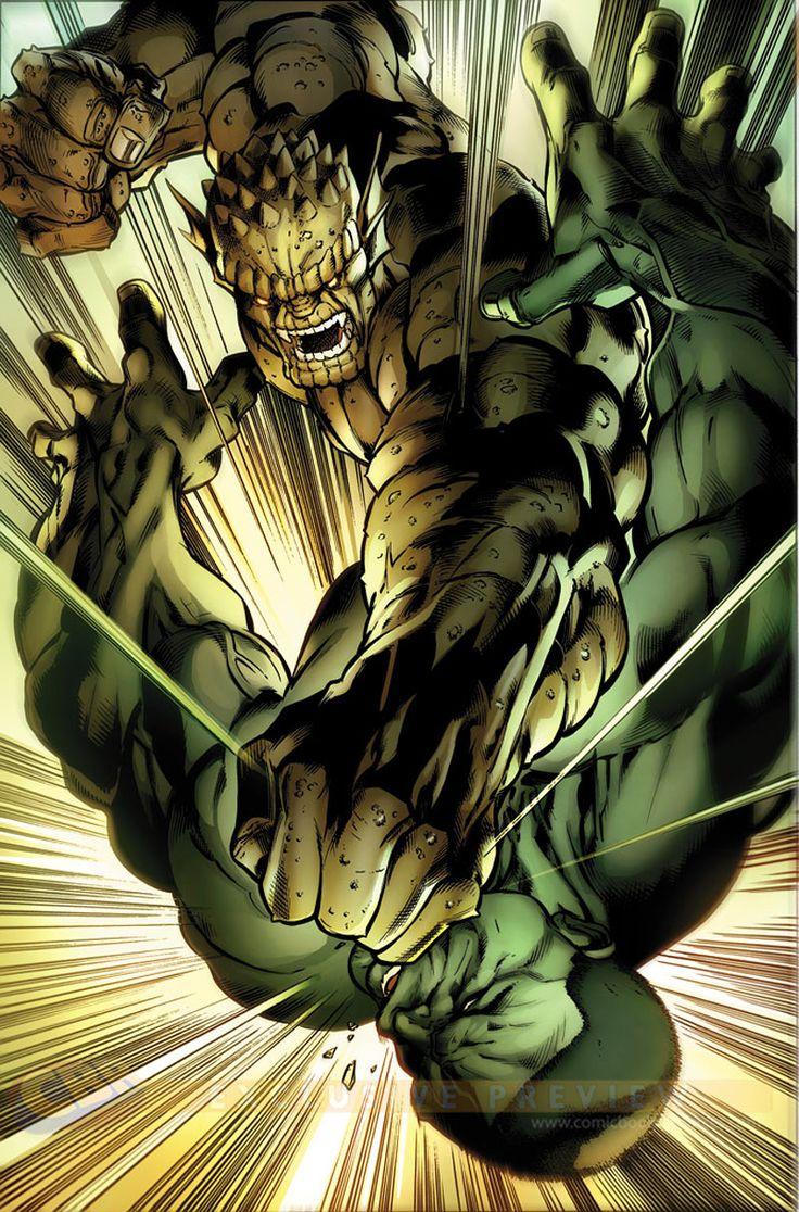 The Hulk #3 interior art by Mark Bagley The Abomination strikes.