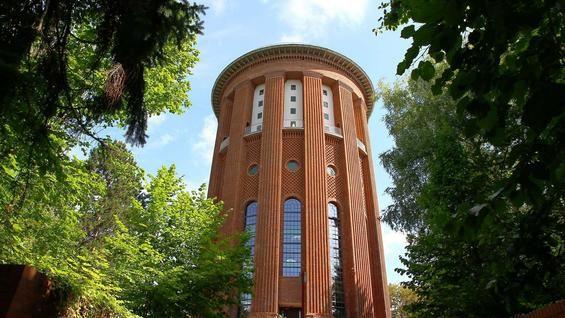 Hans Heinrich Müller   Torre del Agua Steglitz   Steglitzer Wasserturm   Berlín, Alemania   1915-1919