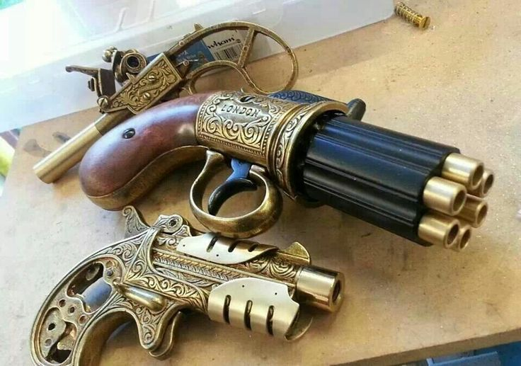 Steampunk firearms