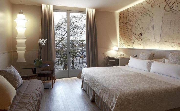 Cette chambre insonorisée Privilège - Boutique hôtel du centre de Barcelone