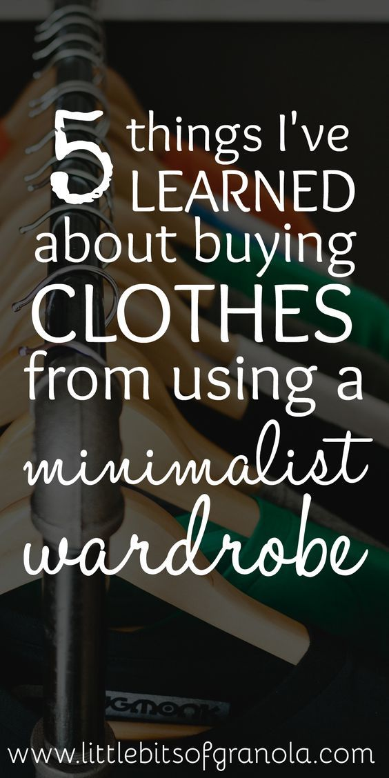 Minimalist and capsule wardrobes have completely changed the way I buy clothes!
