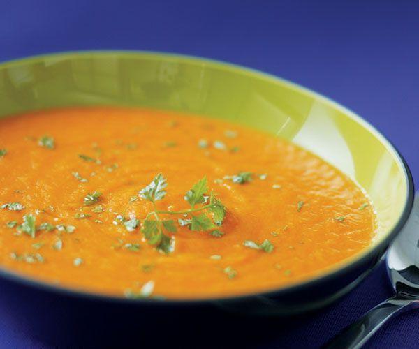 Roasted Carrot Soup Recipe - fantastic!