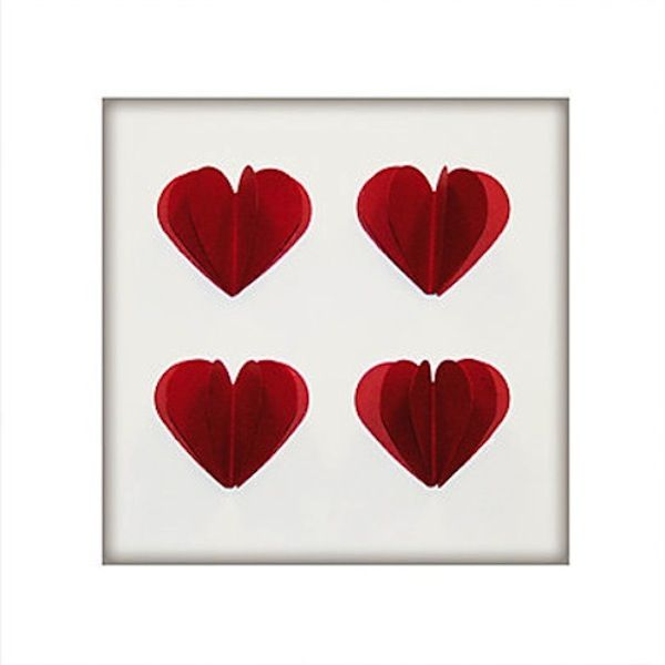 Red Hearts - £30  Something different to buy a loved one for valentines day