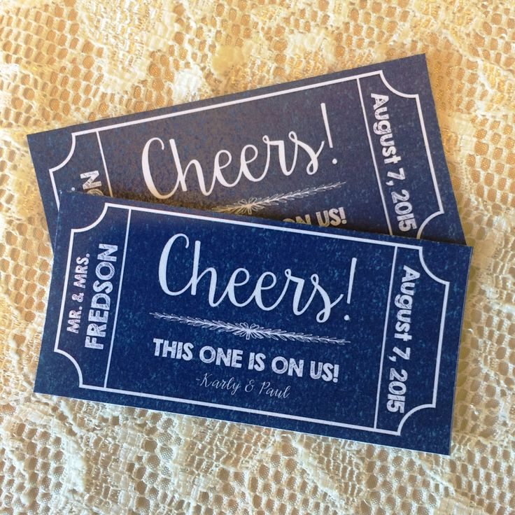 Best 25+ Drink ticket ideas on Pinterest Good food voucher, Big - free event ticket maker