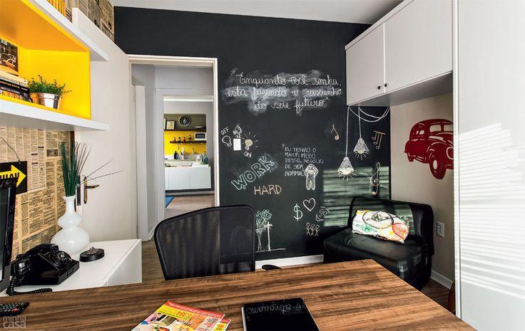 Home office para dois em 9 m² - Casa