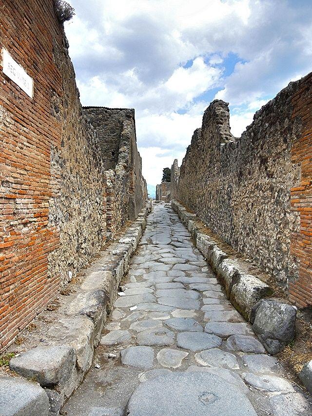 Napels: de goed bewaarde ruïnes van Pompeii