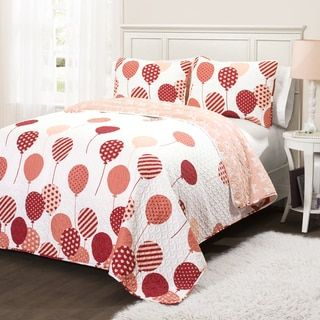Shop for Lush Decor Flying Balloon 3-piece Quilt Set. Get free delivery at Overstock.com - Your Online Kids'