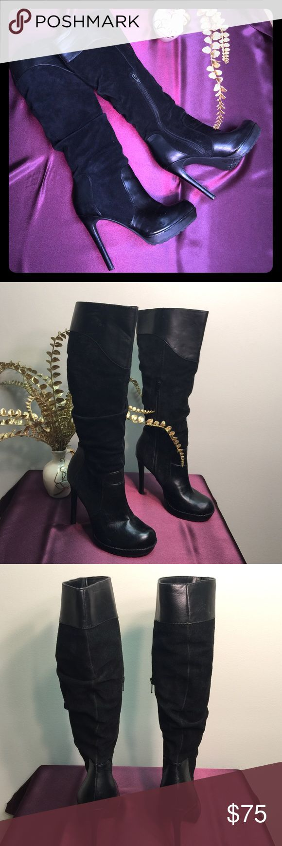 Jessica Simpson boot Gently worn Jessica Simpson Vaness style boots. Jessica Simpson Shoes Heeled Boots