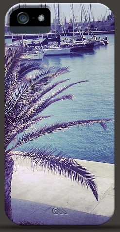iPhone Case with Palm Tree