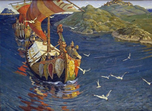 The Early Viking Age, Polite And Maritime Trade