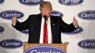 Donald Trump vows 'consequences' for companies leaving US