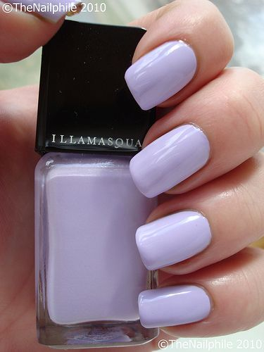 Love lavender nails! This is a pretty close match to Revlon Charming 211