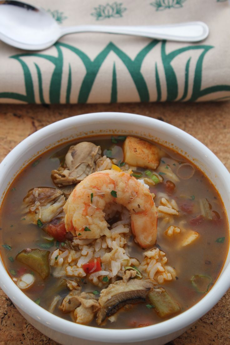 Seafood Okra Gumbo – A light gumbo that does not require a roux!