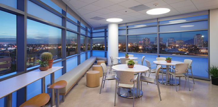 St. Joseph's Hospital and Medical Center | Perkins + Will | Healthcare, Semi-private, family room
