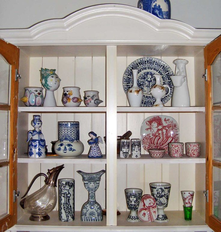 Bjorn Wiinblad Pottery | Posted by Ray Garrod at 7:43 PM