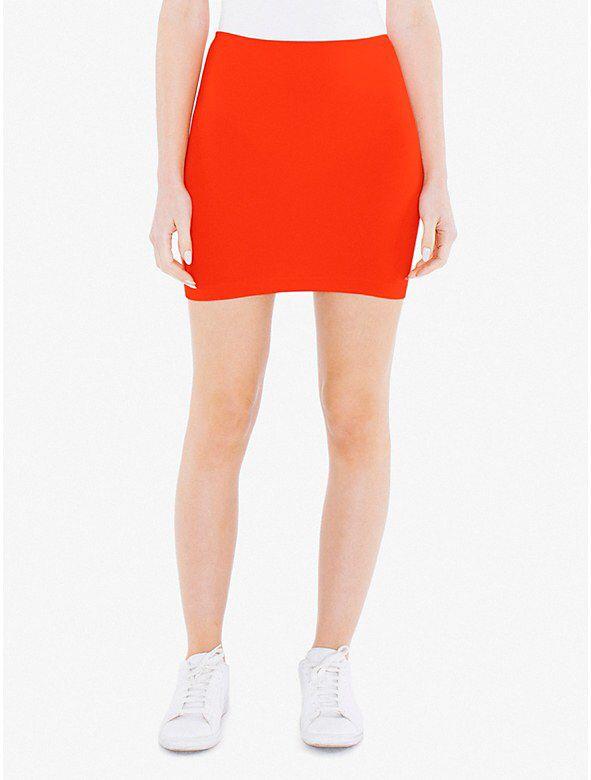 Ponte Mini Skirt from American Apparel $38,00