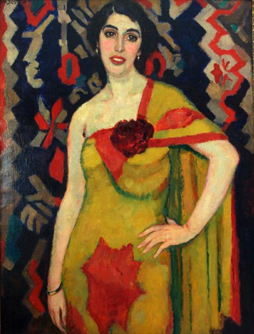 Portrait of a Dancer by Jan Sluijters (1881-1957)