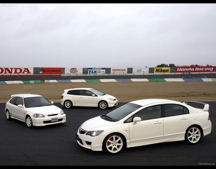 Honda Civic Type R's