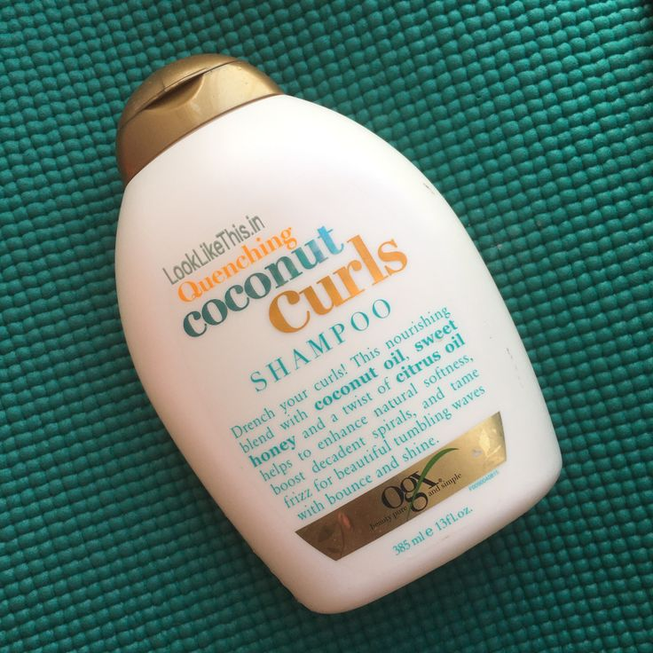 OGX Quenching Coconut Curls Shampoo Review