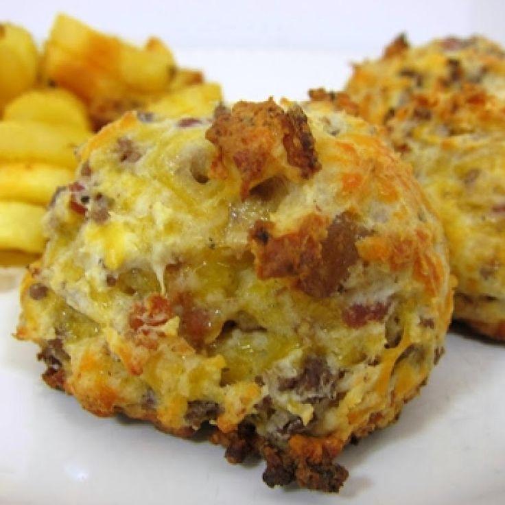 Football Friday - Bacon Cheeseburger Puffs