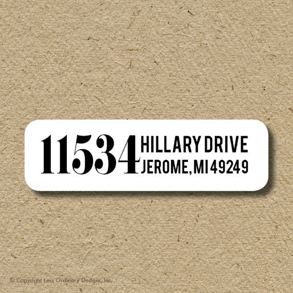The  Best Custom Return Address Labels Ideas On