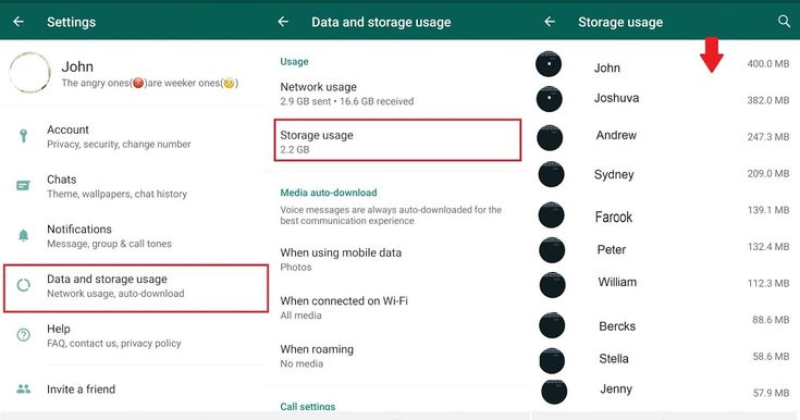 How to delete whatsapp chats partially like only photos
