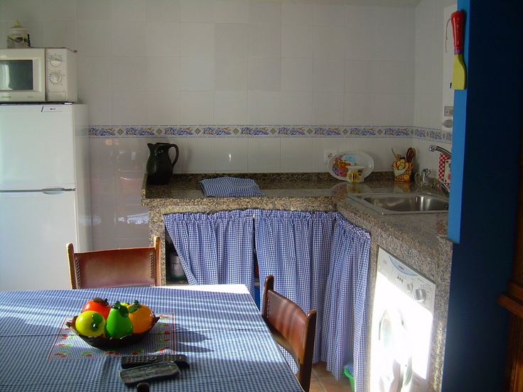 Cortinas en cocina de concreto cocina idea decoracion for Decoracion de cortinas de cocina