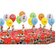 Mickey Mouse Doğum Günü Parti Seti 16 Kişilik. Sizin İçinDoğum Günü Partisi İçin  İhtiyacınız Olan Bütün Herşeyi Bir Pakette Topladık Bir Araya.