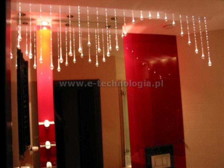 dekoracje do łazienki galeria - dekoracje do łazienki lampy - dekoracje do łazienki kryształy e-technologia