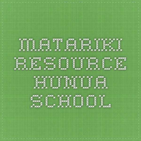 Matariki Resource Hunua School