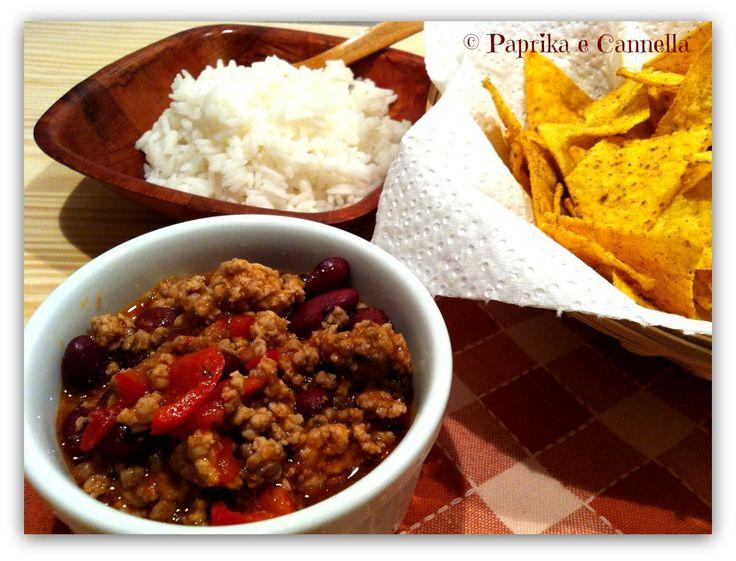 Chili con carne Paprika e Cannella Blog