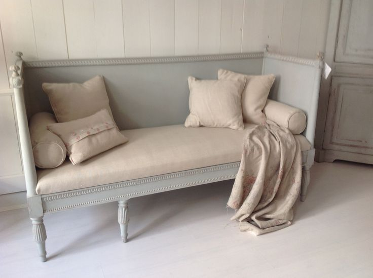 Gustavian bench nordisk shabby chick pinterest for Furniture 0 interest
