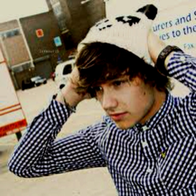 Liam Payne<3 Adorable. The most responsible guy from one direction.    RESPECT.